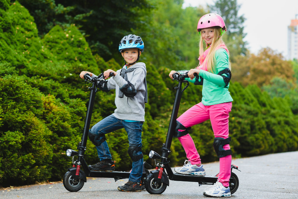 Comparison between Electric scooter and Kick kid Scooter
